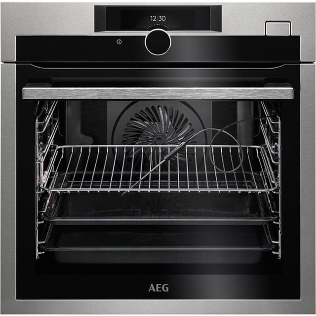 AEG Mastery BSE874320M Built In Electric Single Oven - Stainless Steel - A+ Rated - BSE874320M_SS - 1