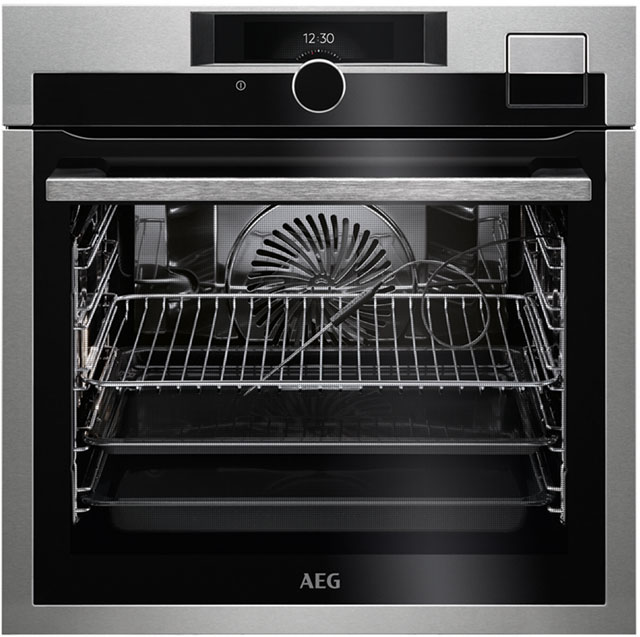 AEG BSE892330M Built In Steam Oven - Stainless Steel - BSE892330M_SS - 1