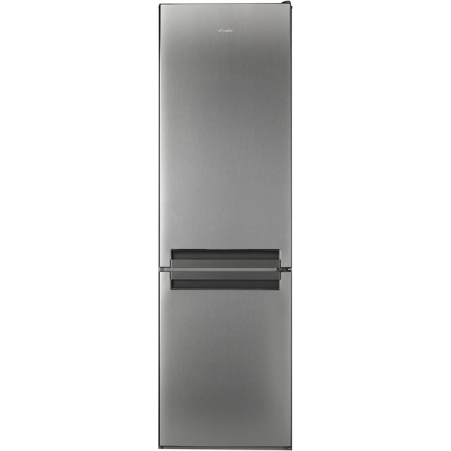 Whirlpool BSNF8151OX.1 70/30 Frost Free Fridge Freezer - Stainless Steel Effect - A+ Rated - BSNF8151OX.1_SSL - 1