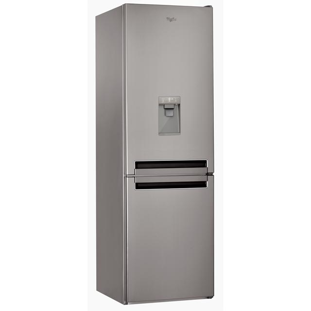Whirlpool BSNF8451OXAQUA.1 70/30 Frost Free Fridge Freezer - Stainless Steel Effect - A+ Rated - BSNF8451OXAQUA.1_SSL - 1