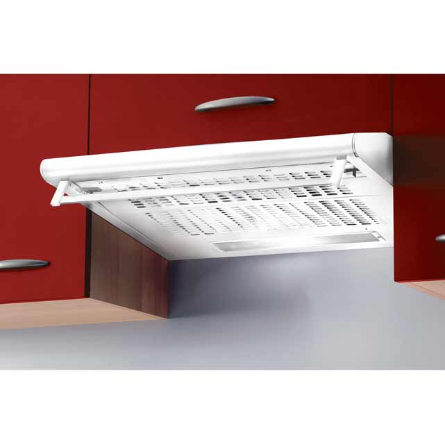 Baumatic Integrated Cooker Hood in White