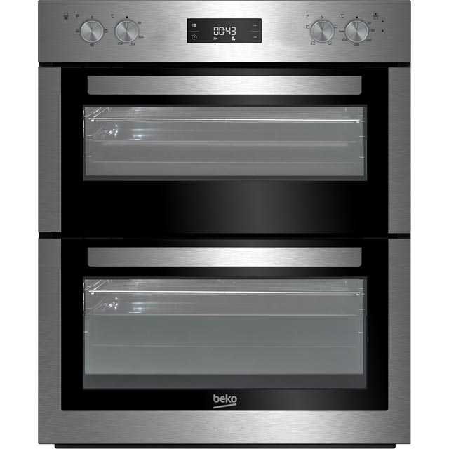 Beko BTF26300X Built Under Double Oven - Stainless Steel - A/A Rated - BTF26300X_SS - 1