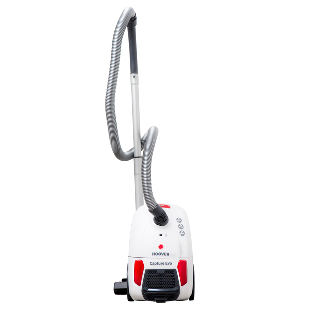 Hoover SDA Capture BV71 Cylinder Vacuum Cleaner in White / Red