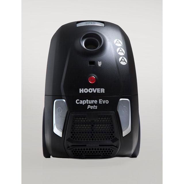 Hoover Capture BV71CP20 Cylinder Vacuum Cleaner in Black