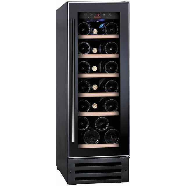 Baumatic BWC305SS/2 Built In Wine Cooler - Black / Stainless Steel - B Rated - BWC305SS/2_BKG - 1