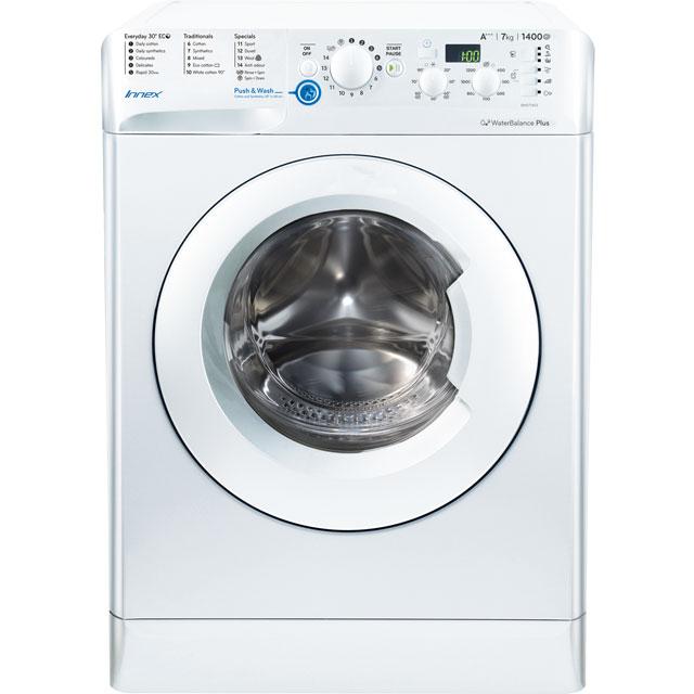 Indesit Innex BWD71453WUK Free Standing Washing Machine in White