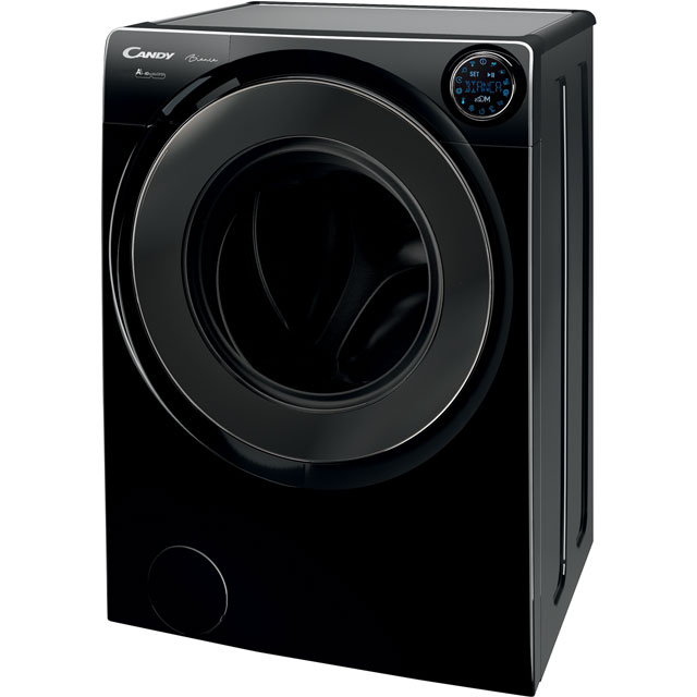 Candy Bianca BWM149PH7B Wifi Connected 9Kg Washing Machine with 1400 rpm - Black - A+++ Rated - BWM149PH7B_BK - 1