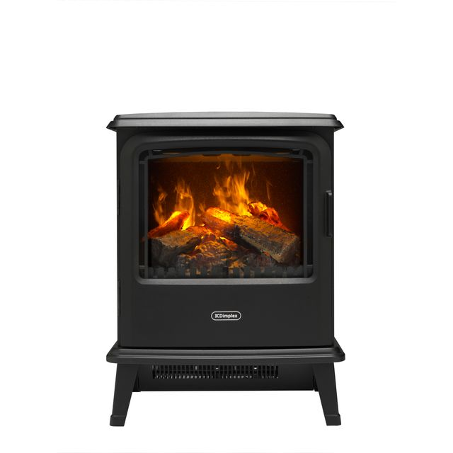 Dimplex Bayport Log Effect Electric Stove With Remote Control - Black
