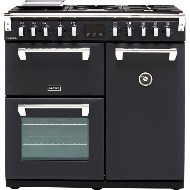 Stoves Richmond S900DF 90cm Dual Fuel Range Cooker - Anthracite - A/A/A Rated