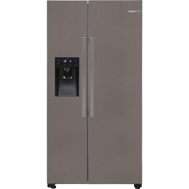 Bosch Serie 6 KAI93VIFPG American Fridge Freezer - Stainless Steel Effect - F Rated