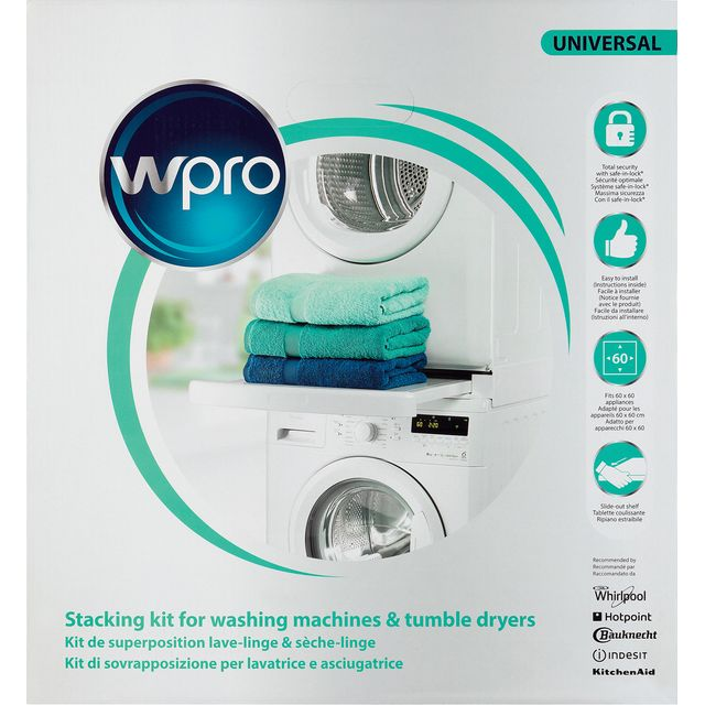 Wpro Free Standing Washing Machine in White