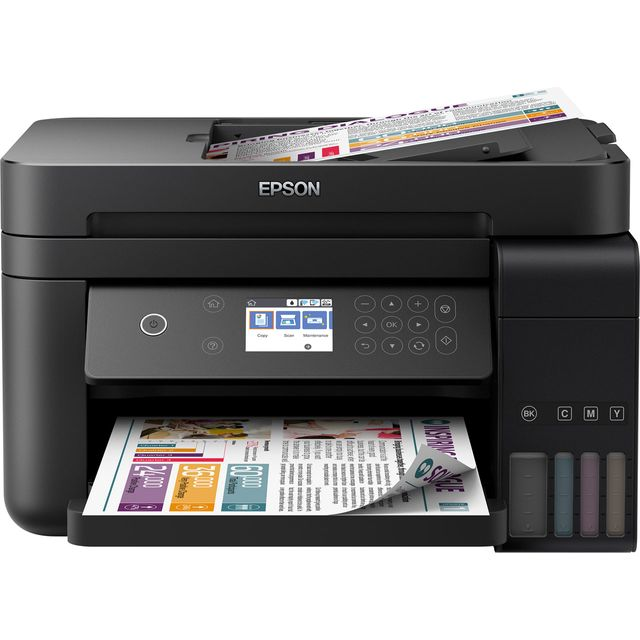 Epson EcoTank ET-3750 Inkjet Printer - Black