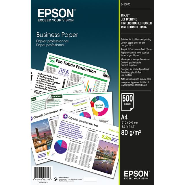 Epson C13S450075 Printer Ink - White - C13S450075 - 1