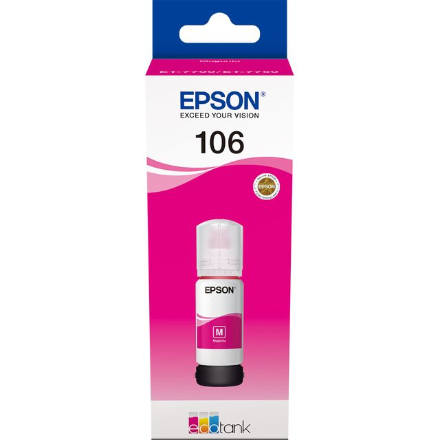 Epson 106 EcoTank Magenta Ink Bottle