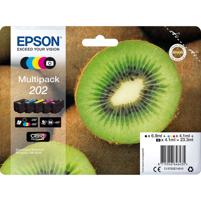 Epson Kiwi Multipack 5-colours 202 Claria Premium Ink