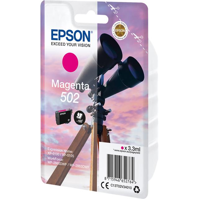 Epson C13T02V34010 Printer Ink in Magenta