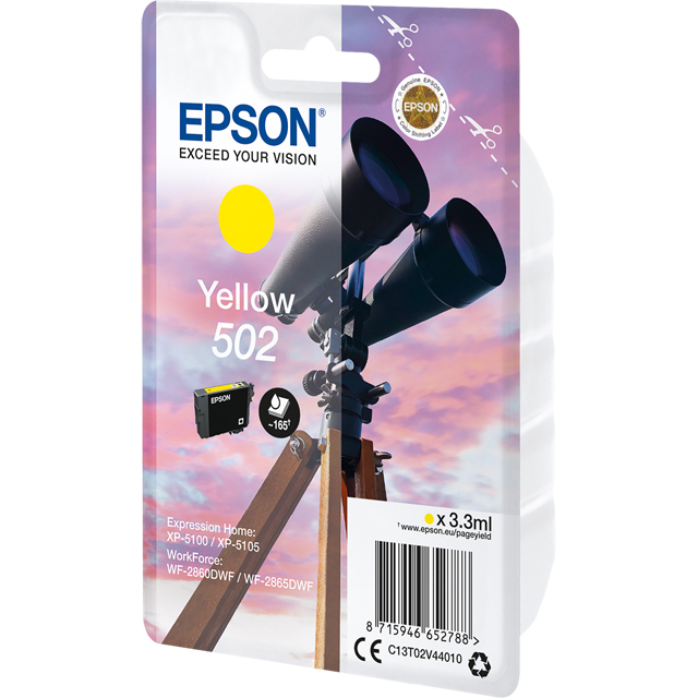 Epson C13T02V44010 Printer Ink in Yellow