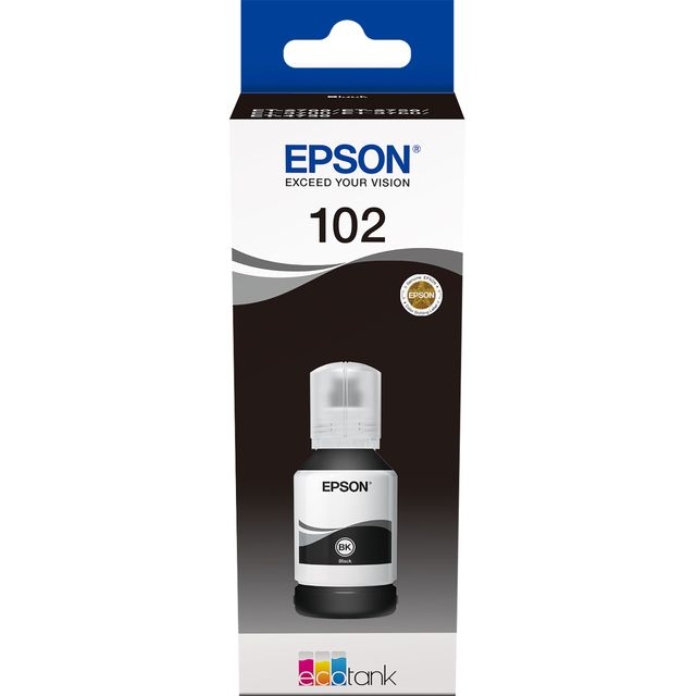 Epson 102 EcoTank Black ink bottle