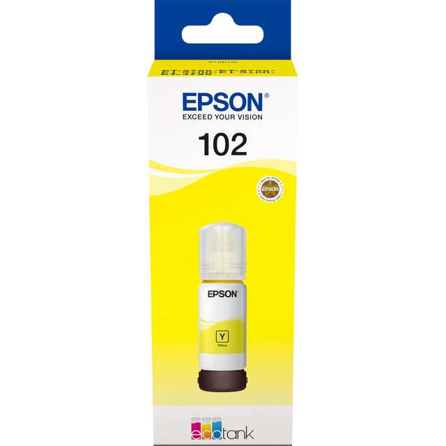 Epson 102 EcoTank Yellow Ink Bottle