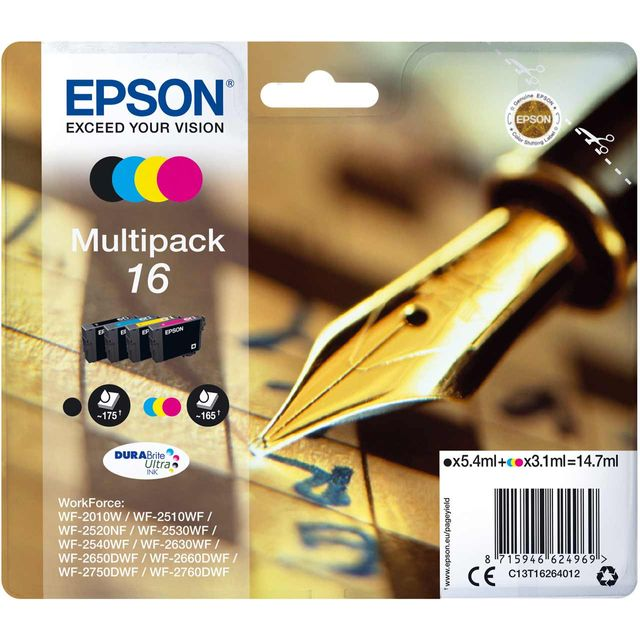 Epson 16 Series 'Pen and Crossword' multipack Cartridge