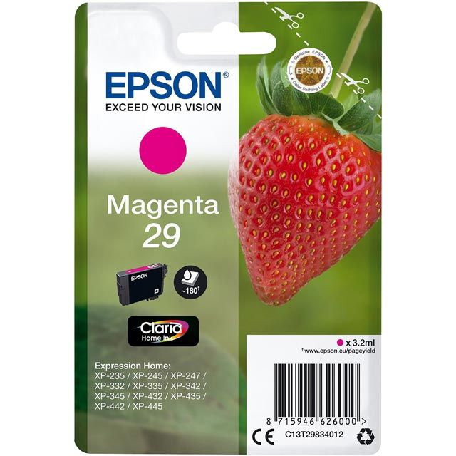 Epson C13T29834012 Printer Ink - N/A - C13T29834012 - 1