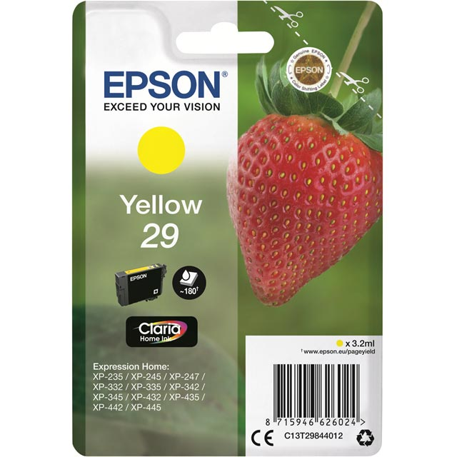 Epson Strawberry Ink For Expression Home XP - C13T29844012 - 1