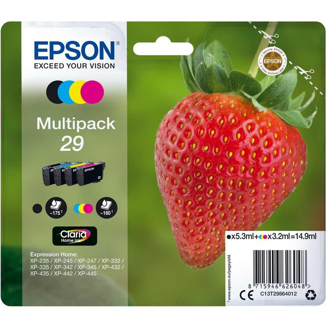 Epson C13T29864012 Printer Ink - N/A - C13T29864012 - 1