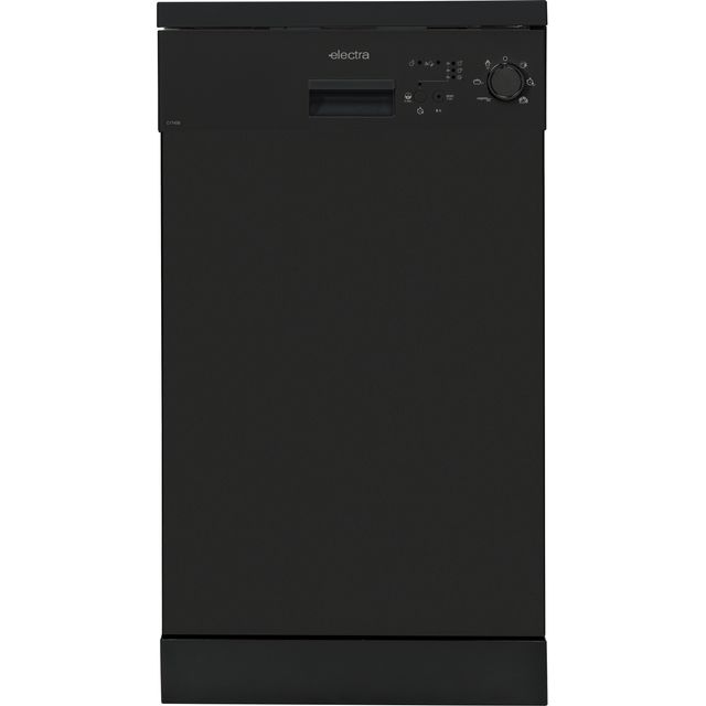 Electra C1745B Slimline Dishwasher - Black - A++ Rated