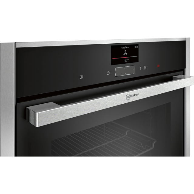 NEFF N90 C17MS32H0B Built In Electric Single Oven - Stainless Steel - C17MS32H0B_SS - 3