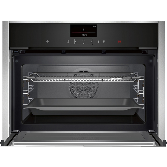 NEFF N90 C17MS32H0B Built In Electric Single Oven - Stainless Steel - C17MS32H0B_SS - 4