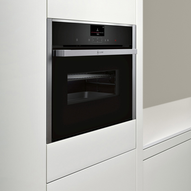 NEFF N90 C17MS32H0B Built In Electric Single Oven - Stainless Steel - C17MS32H0B_SS - 5