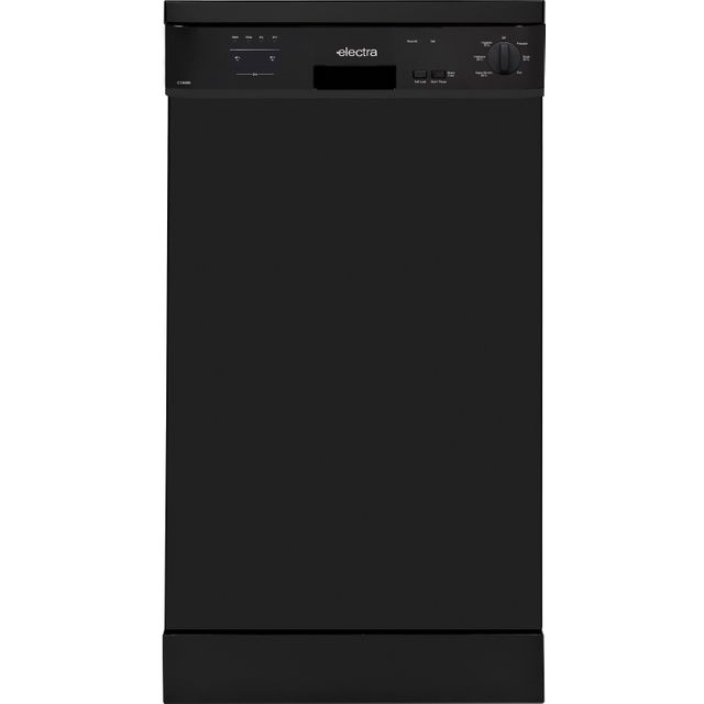 Electra C1845B Slimline Dishwasher - Black - A++ Rated