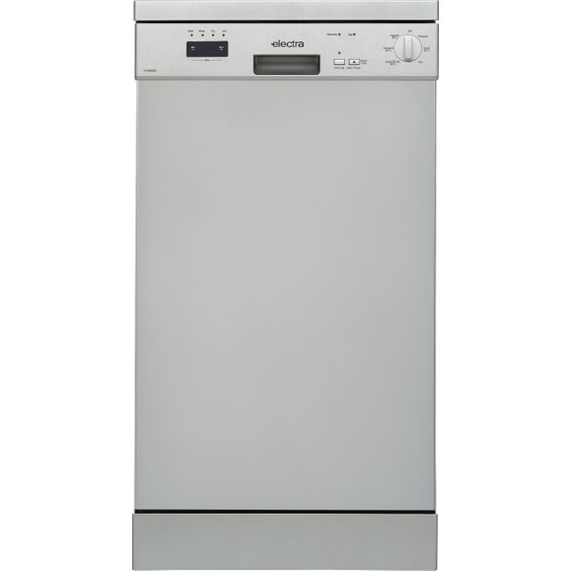 Electra C1845DS Slimline Dishwasher - Silver - A++ Rated