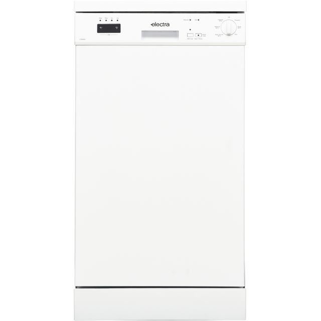 Electra C1845W Slimline Dishwasher - White - A++ Rated