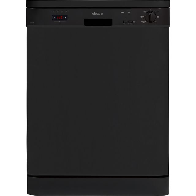 Electra C1860B Standard Dishwasher - Black - A++ Rated