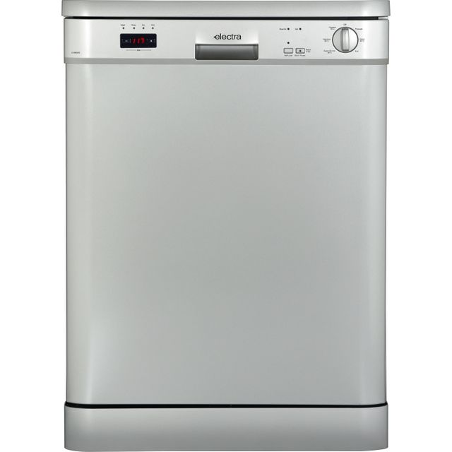 Electra C1860DS Standard Dishwasher - Silver - A++ Rated