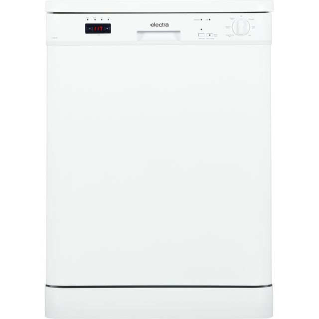 Electra C1860W Standard Dishwasher - White - A++ Rated
