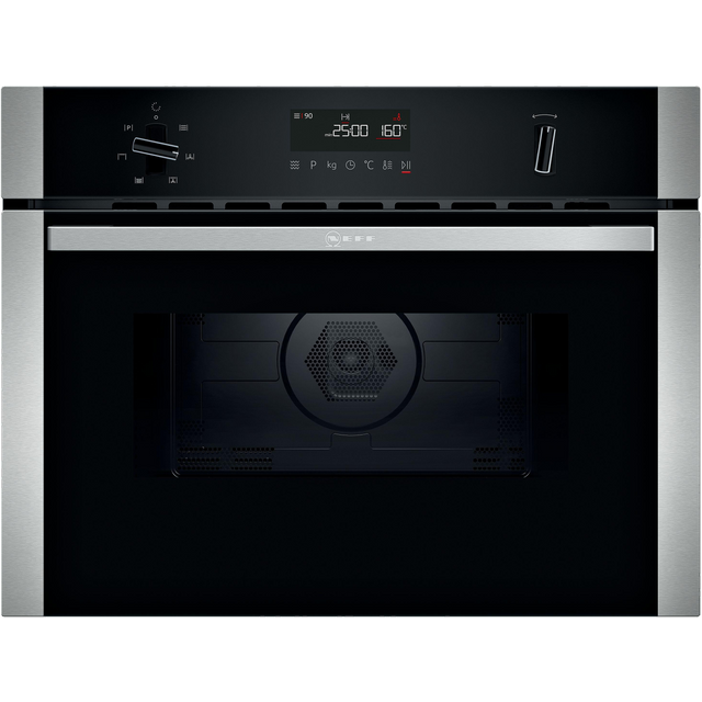 NEFF N50 C1AMG84N0B Built In Combination Microwave Oven - Stainless Steel - C1AMG84N0B_SS - 1