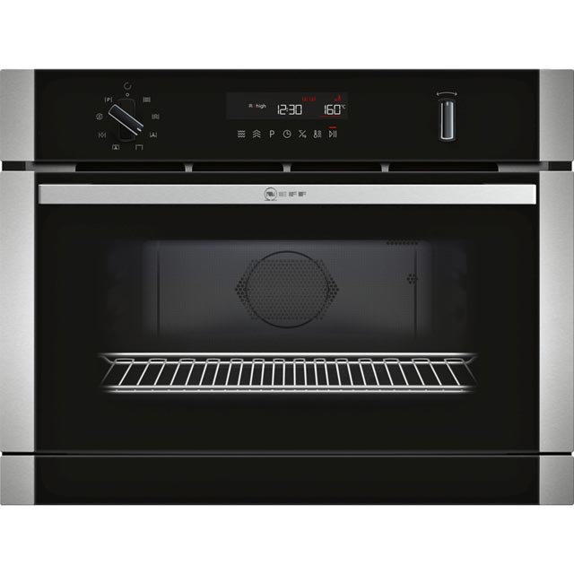 NEFF N50 Built In Combination Microwave Oven - Stainless Steel