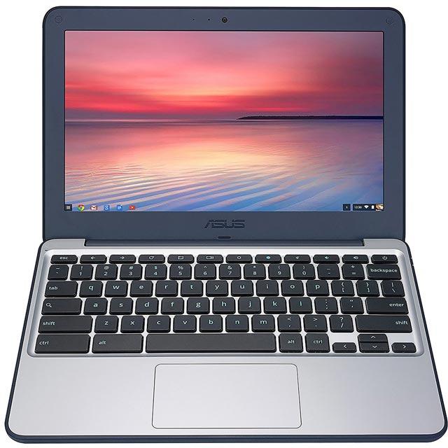 Asus C202SA-GJ0027 Chromebook in Grey / Blue