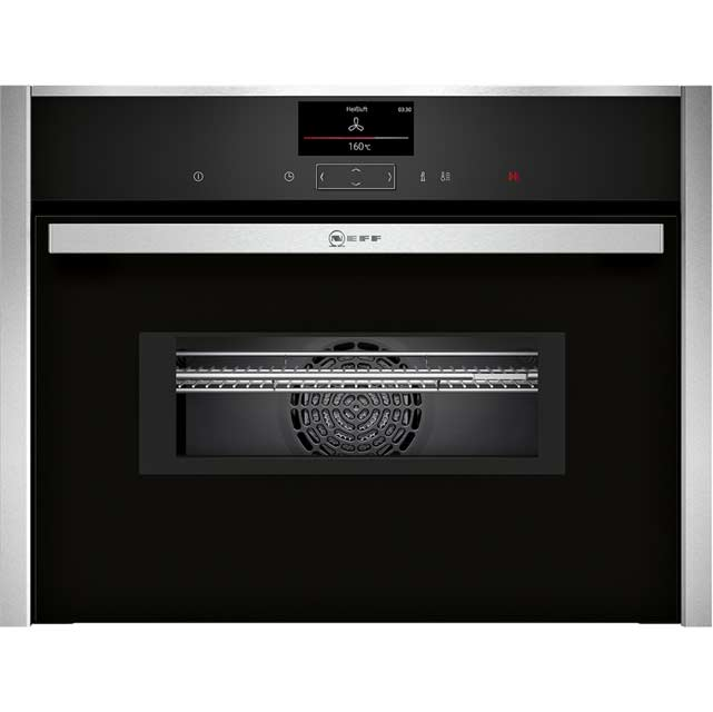 NEFF N90 Compact Electric Single Oven - Stainless Steel