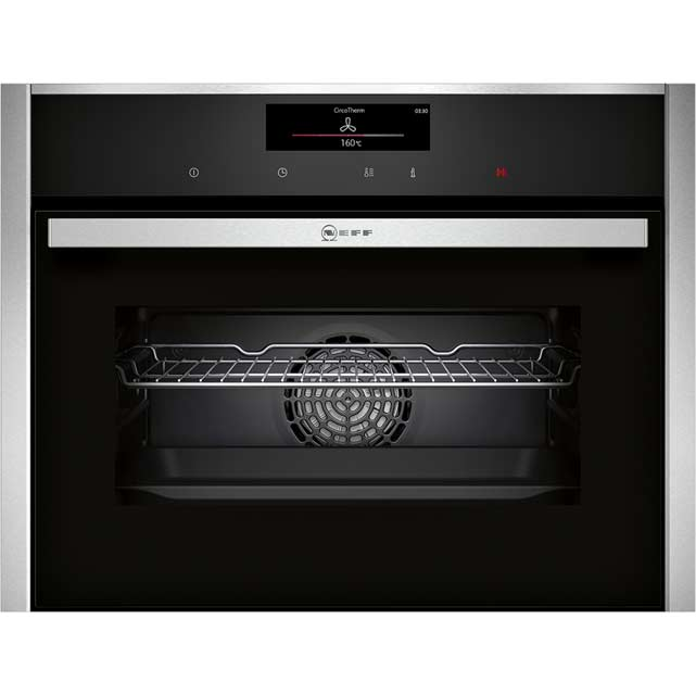 Neff c28ct26n0b premium collection 1 built in electric single oven 60cm single ebay - Neff single oven with grill ...