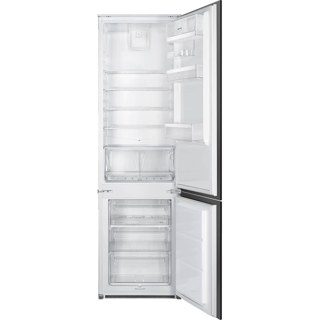 Smeg C3192F2P Built In 70/30 Fridge Freezer - White - C3192F2P_WH - 1