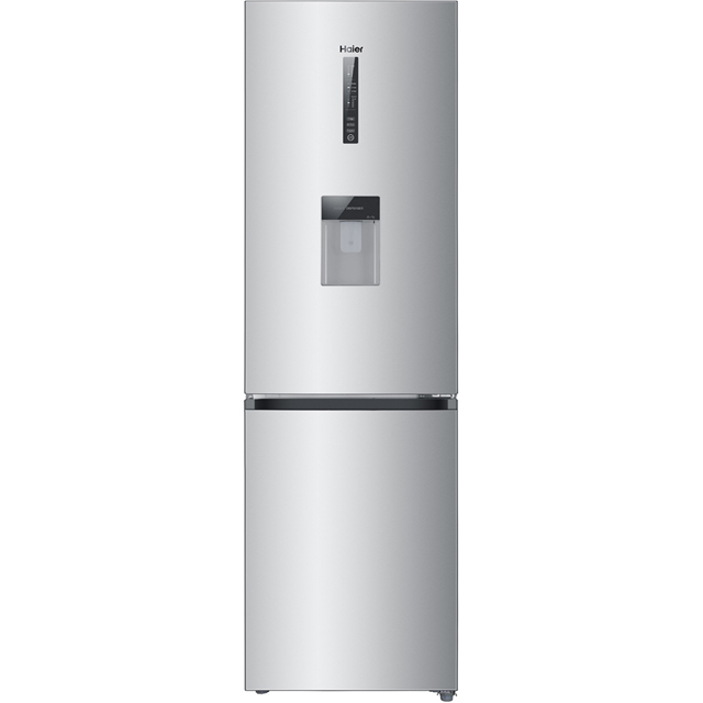 Haier C3FE635CGJW 60/40 Frost Free Fridge Freezer - Silver - A+ Rated