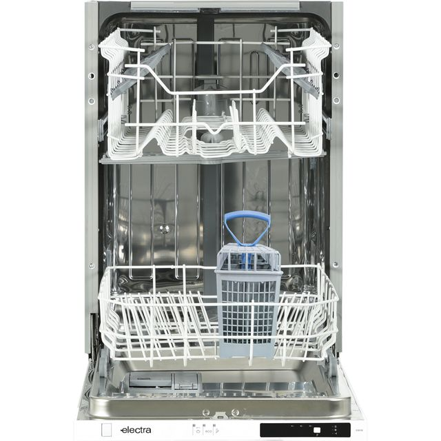 Electra C4510I Fully Integrated Slimline Dishwasher - Black Control Panel - A++ Rated