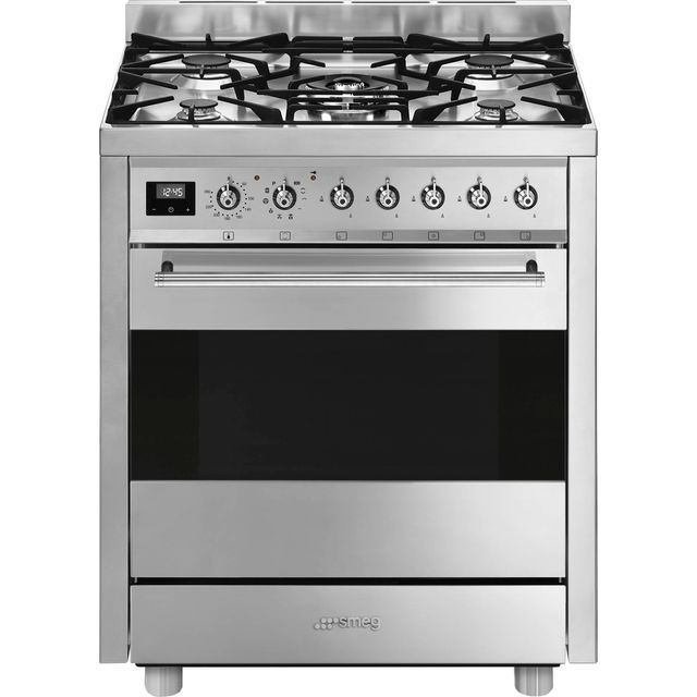Smeg C7GPX9 Dual Fuel Cooker - Stainless Steel - C7GPX9_SS - 1