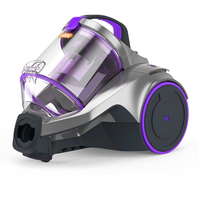 Vax C85-Z2-Re Cylinder Vacuum Cleaner - Silver / Purple