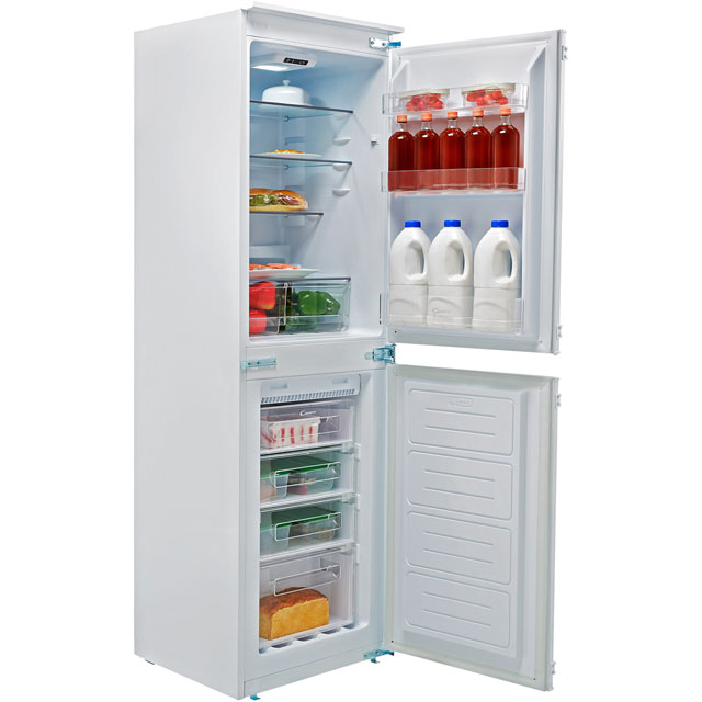 Candy BCBF50NUK Integrated 50/50 Frost Free Fridge Freezer with Sliding Door Fixing Kit - White - A+ Rated - BCBF50NUK_WH - 1
