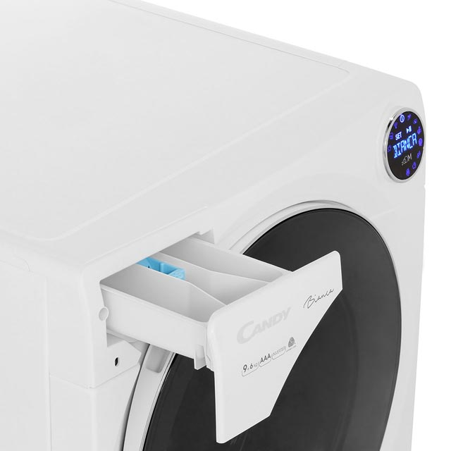 Candy Bianca BWD596PH3 Washer Dryer - White - BWD596PH3_WH - 5
