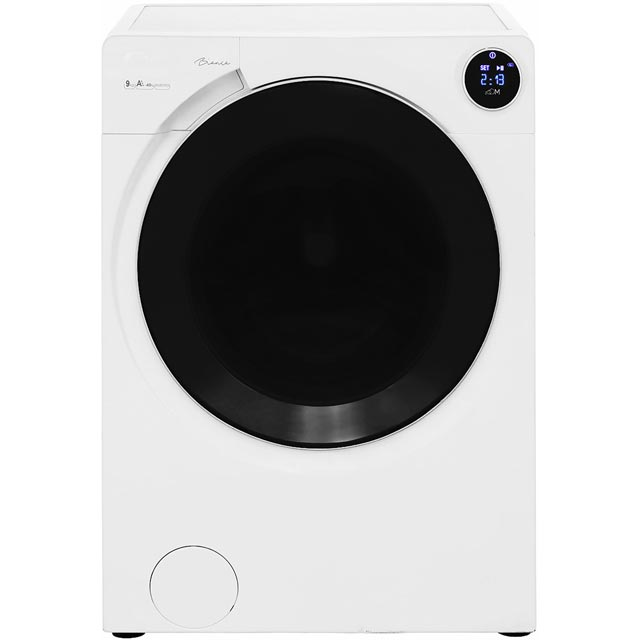 Candy Bianca BWM149PH7 Wifi Connected 9Kg Washing Machine with 1400 rpm - White - A+++ Rated - BWM149PH7_WH - 1